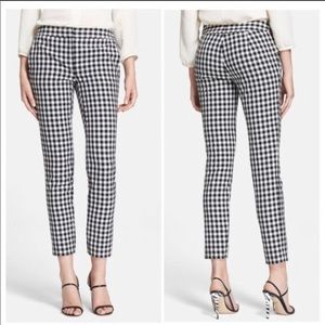 Adrianna Papell Gingham Pants